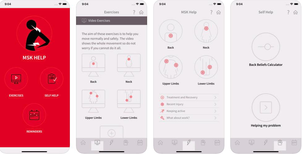 NHS 24 MSK App Review