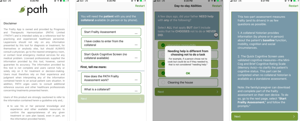 PATH Frailty App Review - iMedicalApps