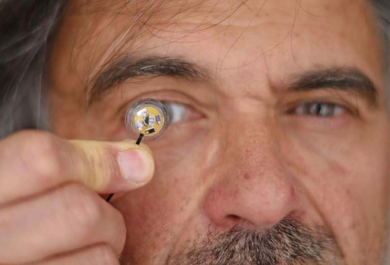Electronic Contact Lenses Can Now Integrate Micro-Battery to Power Them