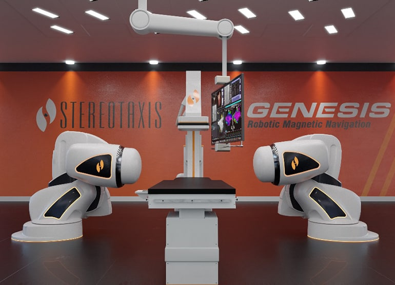 Stereotaxis Unveils New Magnetic Robotic Cardiac Navigation System