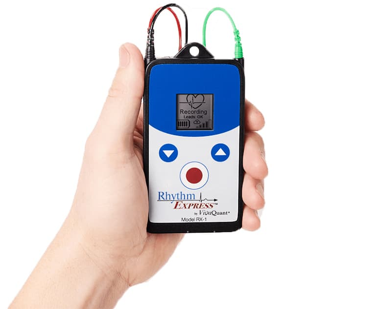 VivaQuant RX-1 Wearable All-in-One Mobile Cardiac Telemetry Unit and Event Monitor FDA Cleared