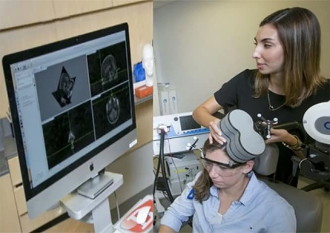 Transcranial Magnetic Stimulation Improves Working Memory