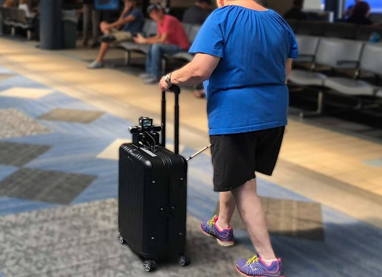 Smart Suitcase and App Combo Help Blind People Get Around Pittsburgh International