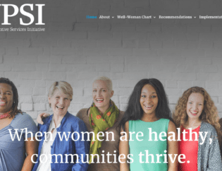 Women's Preventive Services Initiative Web App