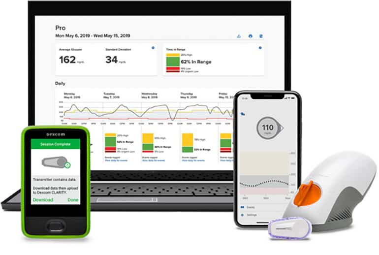 Dexcom G6 Pro with Blinded Mode FDA Cleared