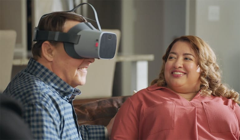 Comcast Partners with NuEyes to Make TV Accessible to People with Low Vision