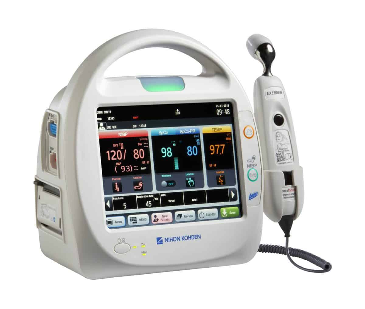 Nihon Kohden's New Patient Monitor for Outpatient Clinics