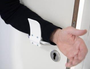 Print Your Own Hands-Free Door Opener to Contain Spread of Coronavirus