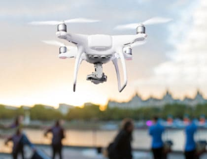 Pandemic Drone to Detect People with Respiratory Conditions