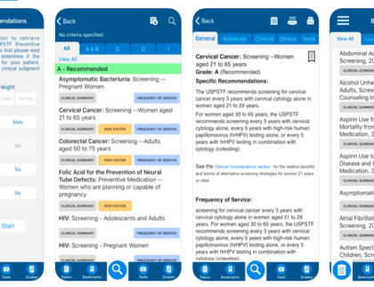 Prevention TaskForce App Review - iMedicalApps