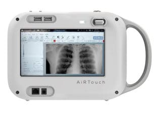AiRTouch Portable X-Ray Receives FDA Clearance, Can Be Used for COVID Diagnosis