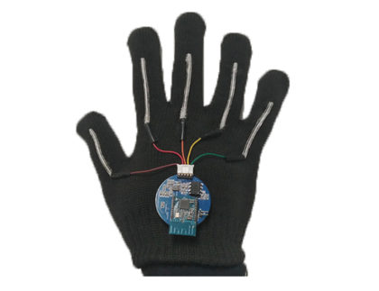Glove Interprets Sign Language in Near Real Time