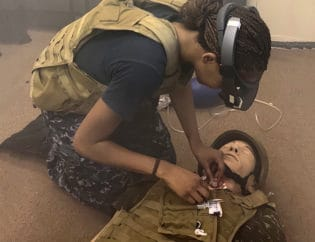 Augmented Reality Telemedicine Shown to be Effective for Battlefield